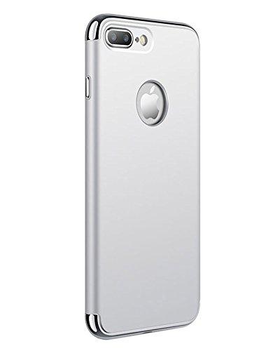 iPhone 7Plus Hülle Case Dünn Federleicht Handyhülle Hardcase Passgenau Schutzhülle Silber