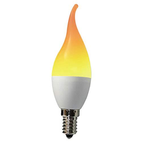 LOVEPET Kerze Flamme Licht LED Kerze Licht Spitze Blase Flamme Energiesparlampe E14 E27 Simulation Flamme Schwanz Spitze Blase Lampe 2 Stücke