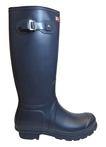 Sky Walker Ladies Women Knee High Flat Festival SKO Wellies Wellingtons Waterproof Rain Boots Size 3-8