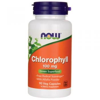 Now Foods Chlorophyll, 100mg, 90 Vegetarian Capsules from NOWFOODS