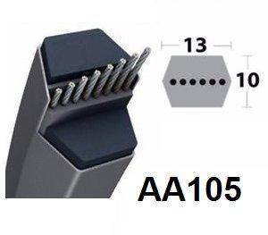 AA105 - Courroie Tondeuse Hexagonal
