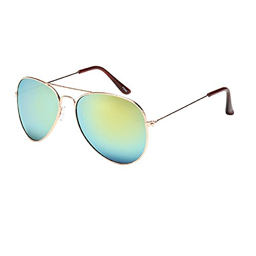Battnot☀ Sonnenbrille für Damen Herren, Pilotenbrille Oversized Übergroße Unisex Vintage Rahmen Mode Anti-UV Gläser Schutzbrillen Männer Frauen Retro Billig Sunglasses Women Eyewear Eyeglasses