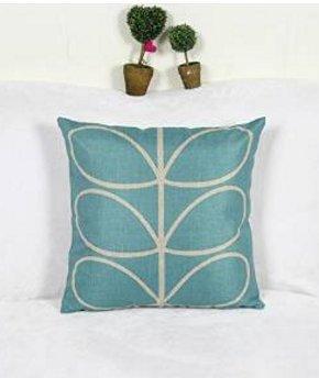akooya Cartoon alberi fiori cuscino lino federa cuscino decorativo per la casa,