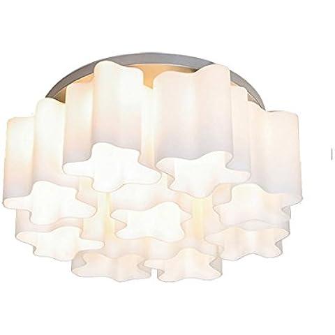 Uno stile moderno e minimalista camera da letto soggiorno ristorante Cafe lampadari luce a soffitto-G664