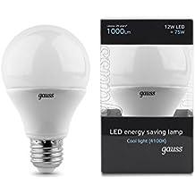 GAUSS A+ LED Lampe Plastik 12 W E27 weiß ЕВ102002212