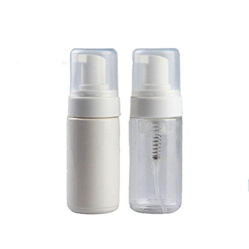 2 PZ 50 / 100ml di viaggio plastica distributore di sapone Schiuma pompa di schiumatura Suds bottiglia