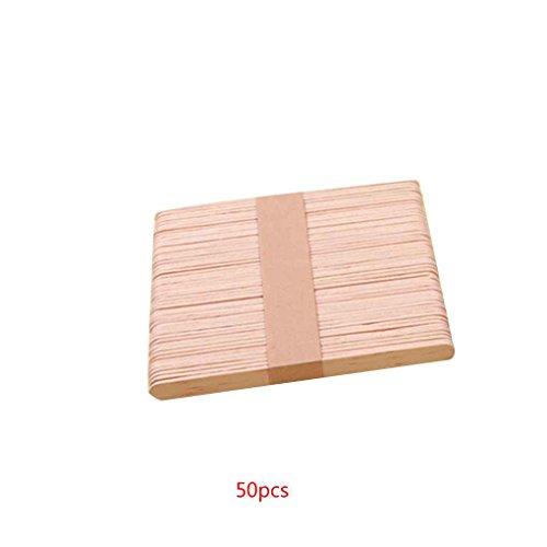 Level 50PCS Holz Kaffee-Tee-Rührwerke Mischer Craft Stick/Paddle Pop Sticks Einweg