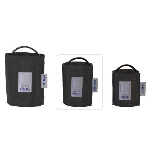 MDF (MDF2080461D-11) Latexfreie Blutdruckmanschette - Einschlauch - D-Ring - Schwarz  -