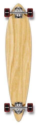 Yocaher Punk gebeizt Pintail komplett Longboard Skateboard,
