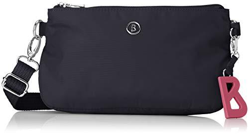Bogner Damen Verbier Kata Shoulderbag Shz Schultertasche, Blau (Dark Blue) 7x14x23 cm