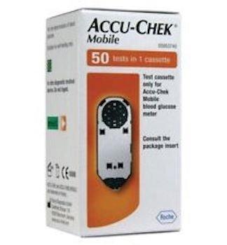 Cassette de test Accu Chek Mobile 1x50