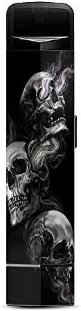 IT'S A SKIN Decal Vinyl Wrap Compatible with Suorin Edge Pod/Glowing Skulls in S