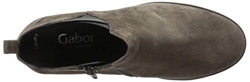 Gabor Damen Comfort Sport Schlupfstiefel Grau (anthrazit (Micro) 30)