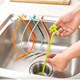elegantstunning Abflussreinigung Haare Reiniger, Waschbecken Anti Blockierung