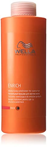 Wella Enrich Moisturising Conditioner 1000ml coarse/thick [Personal Care]