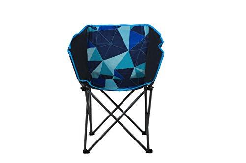 Portail extérieur Unisexe Maison Club Chaise de Camping Pliante, Multicolore, 44 x 45 x 44 cm