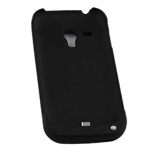 2000mAh External Battery Backup Charger Case for SAMSUNG GALAXY S3 Mini i8190 (black)