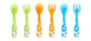 Munchkin - Set de 3 tenedores y 3 cucharas, surtido de colores (B00ARQKRN2) | Amazon price tracker / tracking, Amazon price history charts, Amazon price watches, Amazon price drop alerts
