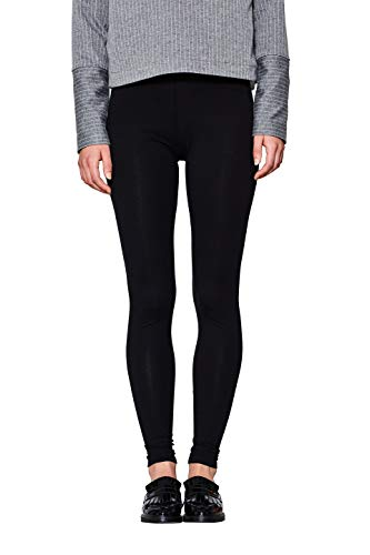 edc by ESPRIT Damen Leggings, Schwarz (Black 001), M