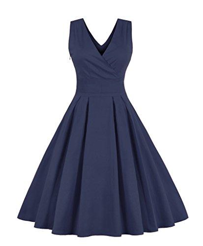 Lacus-UK - Robe - Femme Bleu