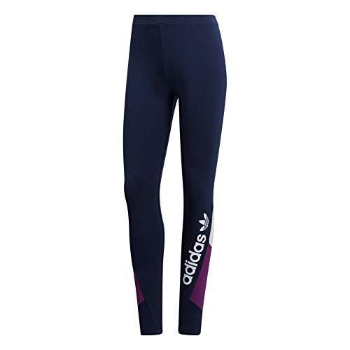 adidas Originals Damen Leggings Colourblock blau 40