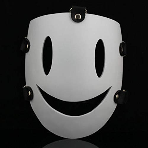 sasa Halloween Sammleredition COS White Smiley Charakter Tag Harz Maske Spielzeug Cosplay