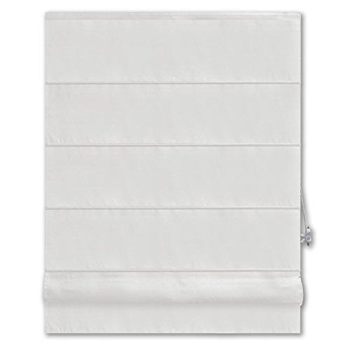 Raffrollo PACIFIC - weiß - 100x160 cm
