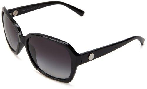DKNY Damen DY4087 30018G Sonnenbrille, Schwarz (Black), One size (Herstellergröße: 59)