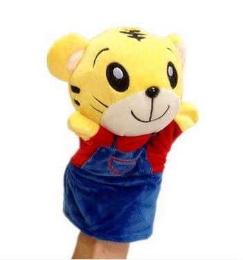 XuBa Handpuppe, Kleiner Tiger, zarter Tier, für Babys und Kleinkinder, Handpuppen, Plüschspielzeug - Little Tiger 20cm
