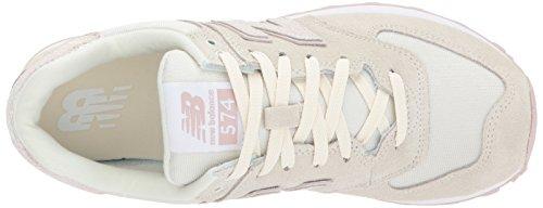 New Balance Damen 574 Sneaker Weiß (Off White)