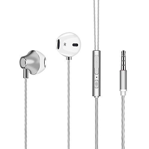 In Ear Kopfhörer, Etmury 2019 Neu HiFi Kopfhörer in Ears Starker Bass Noise Cancelling Stereo Kabelgebundene mit Mikrofon Ohrhörer für Allen Smartphones Tablets Mp3 mit 3,5mm Kopfhöreranschluss