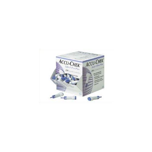 Accu-Chek Safe-T-Pro Plus Einweg-Lanzetten, 200Stück (Einweg-lanzetten)