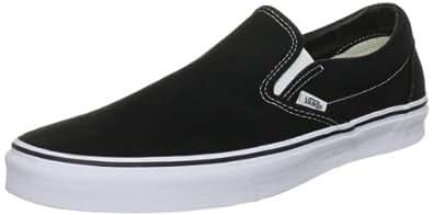 Vans Classic Unisex-Erwachsene Sneakers, Schwarz (Black BLK), 34.5 EU