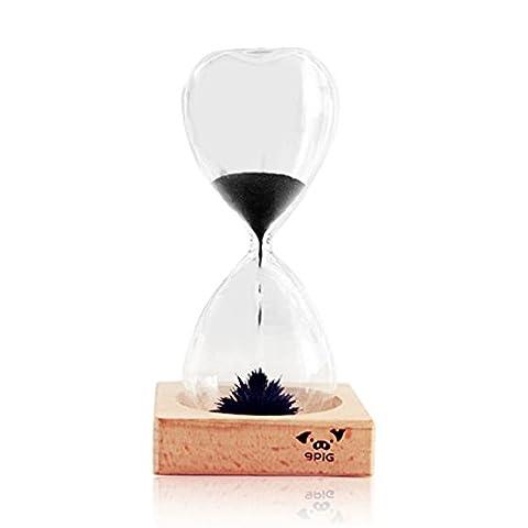 WKAIJCO Dekoration Magnetisch Magnet Sanduhr Timer Kreativ Zeit Glas Haus Geburtstag Geschenk,30Seconds