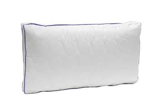Pikolin Home - Almohada con muelles de espuma viscoelástica, alta capacidad de aireación de algodón...