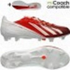 adidas  adizero F50 TRX FG SYN Messi, Chaussures de foot pour garçon Blanc - Blanc