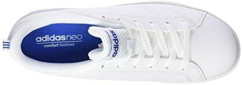 Adidas neo - Advantage blanc bleu jr - Chaussures mode ville Weiß