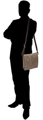 HAROLD'S , Borsa Messenger  Uomo Donna Unisex adulto marrone marrone marrone