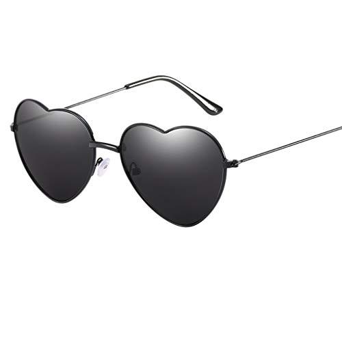 Jaysis Love Vintage Eye Sonnenbrille Retro Eyewear Fashion Strahlenschutzsonnenbrille ringe toy...