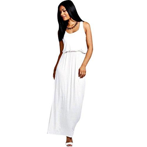 Urban Diva - Robe spécial grossesse - Sans Manche - Femme noir * taille unique Blanc