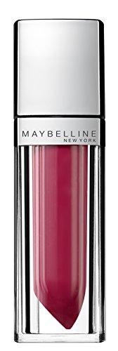 Maybelline New York Make-Up Lipgloss Color Sensational Elixir Rose Redefined/Dunkles Rosa für...