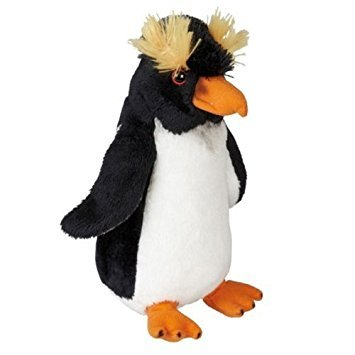 Rockhopper Penguin Soft Plush Toy - 19cm