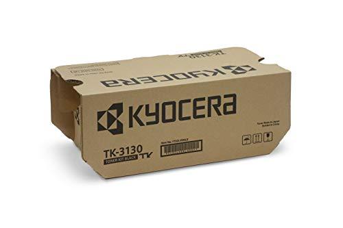 Kyocera TK-3130 Schwarz. Original Toner-Kartusche 1T02LV0NL0. Kompatibel für ECOSYS M3550idn, ECOSYS M3560idn, FS-4200DN, FS-4300DN -