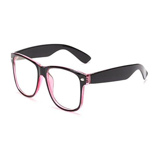 Huicai Blu-ray Filter Computer Brille Anti-UV-Brille Mode altmodische transparente Gläser