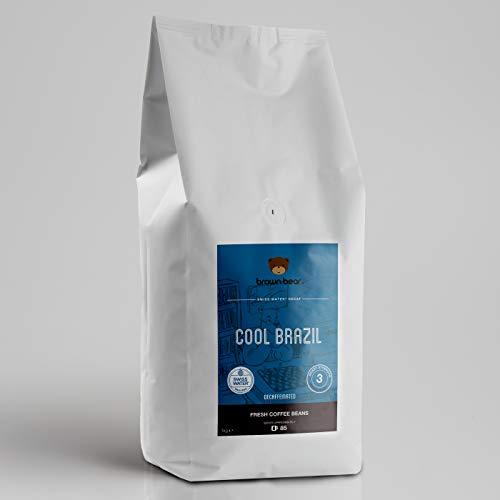 Brown Bear Cool Brazil Swiss Water Entkoffeiniert Kaffeebohnen 1 kg