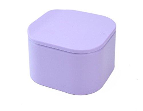 Pattumiera auto Usare Barili di Mini di Stoccaggio di Plastica Cestino Cucina Soggiorno Ufficio Bagno , Purple