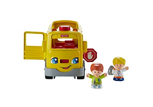 Fisher-Price - FKX01 - Jouet de Premier Age - Little People Bus