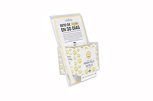 """Doiy """"30Tage Spanisch Happiness Challenge"""" Cube, kunststoff, weiß, 6"""