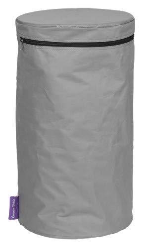 Abdeckhaube für Gasflaschen, Farbe:Anthrazit/Grau