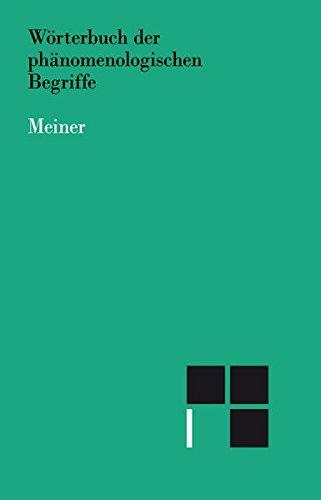 Wörterbuch der phänomenologischen Begriffe